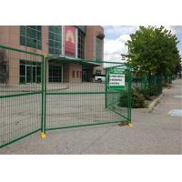 8ft x 12ft temporary metal fence panels hot sale temporary construction fence for rent hire Manufactures