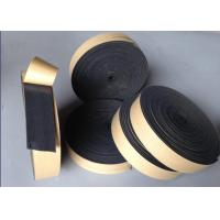 Quality W2 Black NBR Heat Insulation Tape Fire Proof Absorb High Frequencies OEM for sale