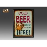 Beer Wall Plaques Home Decorations Decorative Wall Art Signs MDF Pub Wall Decor Manufactures
