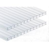 Noise Barrier Triple Wall Polycarbonate Panels, Clear Polycarbonate Roofing Sheet Manufactures