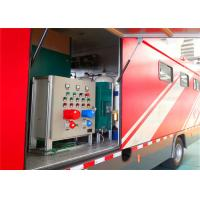 8000x2200x3400mm Dimension Fire Brigade Truck , Rated Output Power 50KW Fire Equipment Truck Manufactures