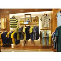 Adult Men Apparel Store Display Cases Wood Plus Grained Veneer Material Manufactures