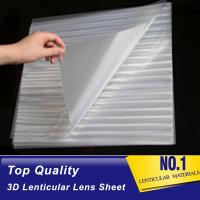 China 160 lpi lenticular thin lenticular sheet-pet 3d lenticular lens plastic sheet film- lenticular 3d clear lens sheet Togo on sale