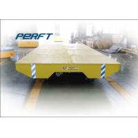 customized cable drum powered transfer trolley steerable motorized platform truck Manufactures