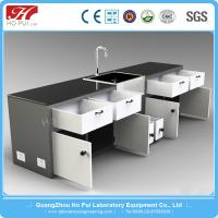 China Commercial Movable Lab Benches , Convenient Chemistry Laboratory Furniture on sale