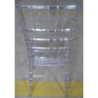 Eco-friendly Contemporary Clear Chiavari Chair Recyclable Polycarbonate Manufactures