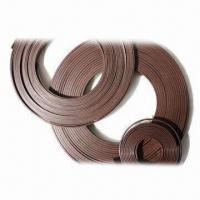 Rubber Magnet Strips, Customized Shapes, Sizes and Lengths are Accepted