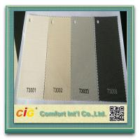 Polyester PVC Home Textile Fabric , Roller Blind Sun Screen Fabric Manufactures
