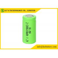 China OEM / ODM 2/3AA 1.2 V 600mah Battery 2/3AA 1.2v 600mah Nickel Metal Hydride Rechargeable Battery on sale
