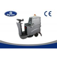 Ride On Driving Industrial Floor Cleaning Equipment , Industrial Floor Scrubber Machine Manufactures