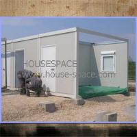 Galvanized Modern Modular House / Waterproof Eco Container House Manufactures