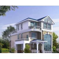 China Long Life Structural Prefab Steel Frame Homes Strong Earthquake Resistance on sale