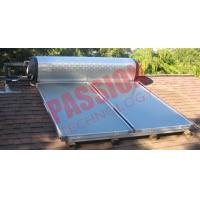 High Efficient Flat Plate Solar Water Heater For Home OEM / ODM Available Manufactures