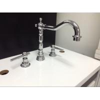 Three Holes Installation Kitchen Tap Faucets Made of Low - Lead Brass Manufactures