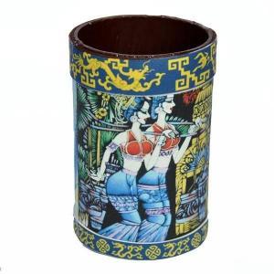bamboo pencil vase,pen holder,handicrafts,folk crafts,home decoration,gifts Manufactures