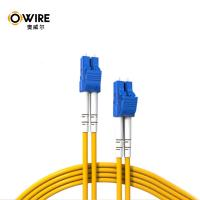0.2dB Salt Spray Fiber Optic Patch Cord LC-LC LC/PC-LC/PC Duplex Long Lifespan Manufactures