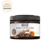 Coconut Milk Natural Exfoliating Scrub Moisturizing Feature Customized Color Manufactures