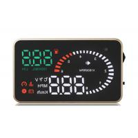 Bear 120 Degree BMW X6 Heads Up Car Display Over Speed Warning Fuel Consumption Car Alarm System