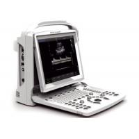 Black And White Mobile Ultrasound Scanner , Trolley Optional Portable Ultrasound Machine Manufactures