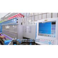 Comforters Embroidery Sewing Machine Computerized 300 G/M2 Quilting Thickness Manufactures