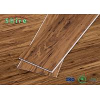 Indoor / Outdoor Rigid SPC Vinyl Flooring For Hall Use Mocha Eucalyptus Style Manufactures