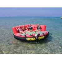 Crazy Ufo Towable Inflatables / Adults And Child Inflatable Water Sport Games Manufactures