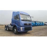 China FAW JIEFANG J5P Big Tractor Trucks , Manual Red Color 6*4 Heavy Duty Truck Tractor Head on sale