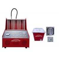 Petrol Fuel Injector Cleaning Machine Red Color 60*60*42cm 230W FCC Approved Manufactures