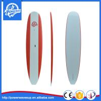 China 10'6 Soft Paddle boards Customized Red Colours IXPE Soft Stand up Paddle Boards on sale