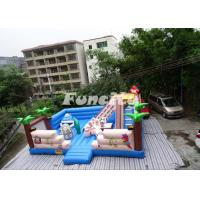 Digital Printing Giant Inflatable Bouncy Castle Cute Design With 0.55 Mm Pvc Manufactures