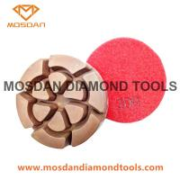 Quality Flower Polishing Pucks Pads for Concrete Surface Finished for sale