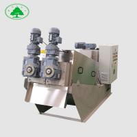 Ant Corrosion Screw Press Sludge Dewatering Machine , Volute Dehydrator Chemical Treatment Of Wastewater Manufactures