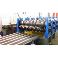 Bunkers Corrugated Sheet Roll Forming Machine For Drainage Channels Manufactures