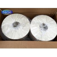 White Color Gummed Kraft Adhesive Tape Starch Adhesive , Pp Stretch Film Manufactures
