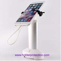 China New Design! Alarm Cell phone Security Display Stand with metal Clamp gripper locker on sale