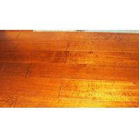 China Maple Engineered Flooring Flooring handscraped and Distressed Surface on sale