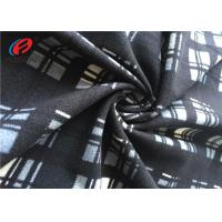 Soft Hand Feel Polyester Velvet Fabric For Home Textile Make To Order Printed