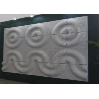 China Flame Retardant 3d Acoustic Wall Panels Noise Absorbing Wall Art Heat Insulation on sale