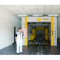 Full Air Drying Tunnel Car Washing Machine Brushed With Wipe System Manufactures