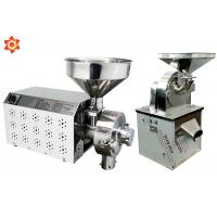Stainless Steel 304 Electric Corn Mill Machine / Industrial Flour Mill Machine Manufactures