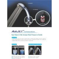 Air Jet water saving shower head Manufactures