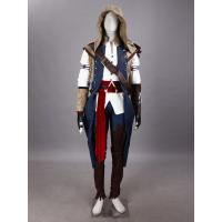 Game Costumes Wholesale Assassin's Creed III cosplay Ezio Auditore cosplay costume halloween Manufactures