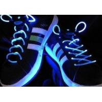 Quality Green LED Glowing Shoelaces for sale