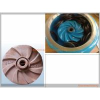 High Effcient Cast Process Mining Slurry Pump Impeller Corrosion Resisting Manufactures