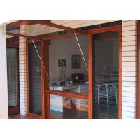 Quality Customized Type Aluminium Awning Windows with Rubber Seal / Powder Coating for sale