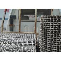 Food Processing Wire Mesh SS Conveyor Belt For Cooling And Freezing Manufactures