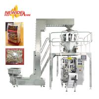 China Large Vertical Pouch Packaging Machine With Nitrogen Flushing For Bake Nuts on sale