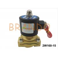 China DN15 Internal Thread Port 2W160-15 Pneumatic Water Diaphragm Valve For Wastewater Treatment on sale