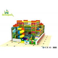 Kindergarden Kids Indoor Playground With Rotary Slide Manufactures