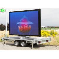 Mobile Advertising Vehicle Led Display Electronic Billboards Outdoor P3.91 3840hz Manufactures